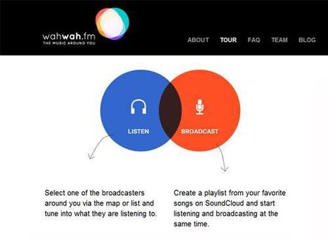 Wahwah.fm Turns iPhones into Local or Global Radio Stations | Music business | Scoop.it