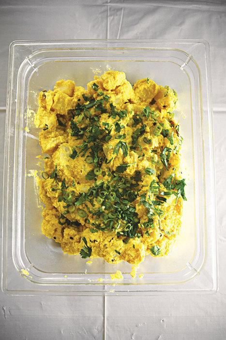 Curried Potato Salad | SAVEUR | Arabic and Indian Recipes | Scoop.it