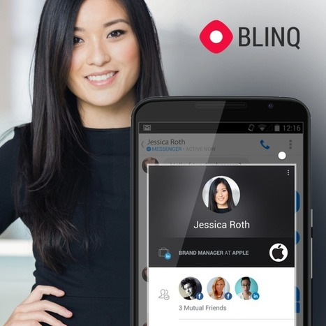 Blinq Enhances Your Favorite Messaging Applications With ExtraInformation | MarketingHits | Scoop.it