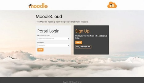 BREAKING: Free Hosting for Educators, Introducing MoodleCloud | Moodle and Web 2.0 | Scoop.it