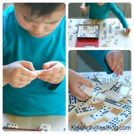 Preschool Math: Learning With Dominoes | Learn through Play - pre-K | Scoop.it