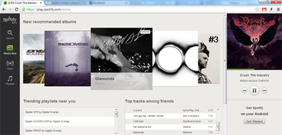 Testa Spotify i webbläsaren - M3 | Bloggsnappat | Scoop.it
