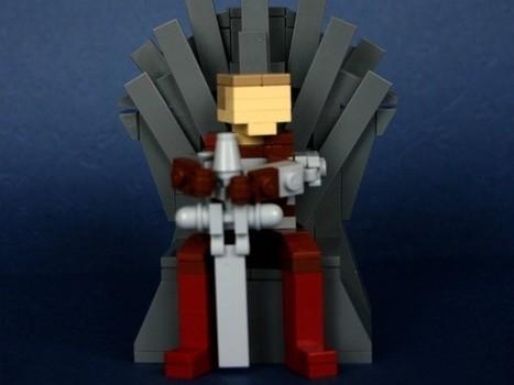 'Game of Thrones' llega al mundo Lego • ENTER.CO   Minecraft Nymeria   Scoop.it