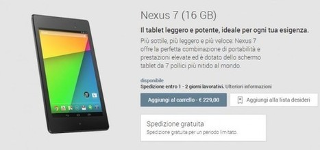 Google Play Devices in Italia disponibile ufficialmente | Android News Italia | Scoop.it