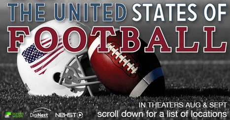The United States of Football The USOF | Screenvision| Find a Showing in Your Area | ALS | Scoop.it