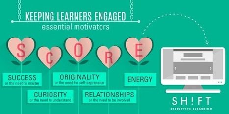 How to Achieve True Learner Engagement: Tap Into These Core Motivators | Life & Productivity Hacks | Scoop.it
