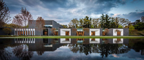 Lakewood Cemetery Garden Mausoleum (2012) | HGA Architects and Engineers | Slide show | Architectural Record | Today's Modern Architects and Architecture | Scoop.it