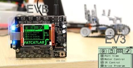 EVB puts BeagleBone in your LEGO EV3 projects - SlashGear | Raspberry Pi | Scoop.it