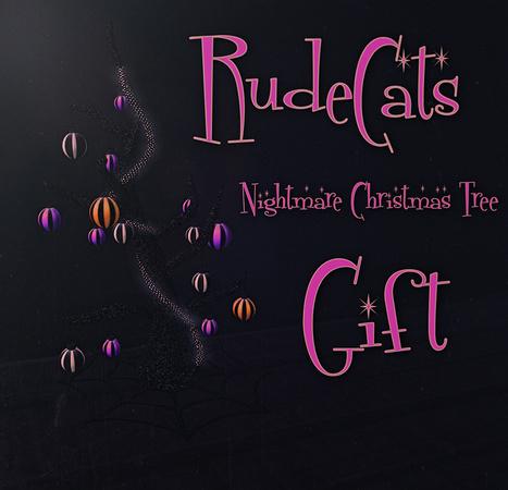 RudeCats - Nightmare Christmas Tree | 亗 Second Life Home & Decor 亗 | Scoop.it
