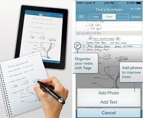 Livescribe 3 Smartpen: Transform Handwritten Text to Digital Format | PowerPoint Presentation | Business and Productivity Tools | Scoop.it