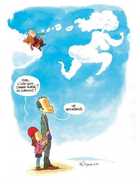Papa, t'es là ? par Elsa Wolinski - Elle | Au hasard | Scoop.it