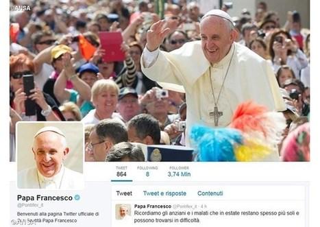 Pápeža na sociálnej sieti Twitter sleduje už 30 miliónov ľudí | Správy Výveska | Scoop.it