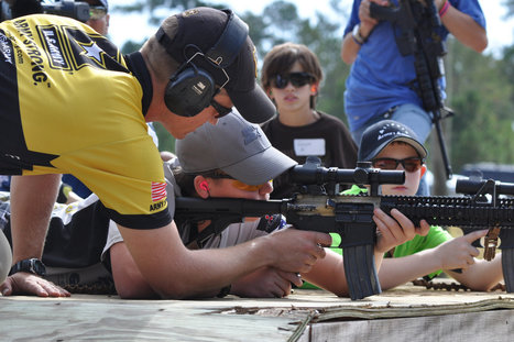 Selling a New Generation on Guns | Gun and america | Scoop.it