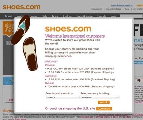 Adapter l'ergonomie de votre site à l'international   Ergonomie IHM, Interaction design, UX   Scoop.it