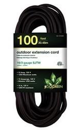 Go Green Power GG-13700BK 16/3 SJTW Outdoor Extension Cord, 100-Feet, Black   Best Standby Generators   Scoop.it