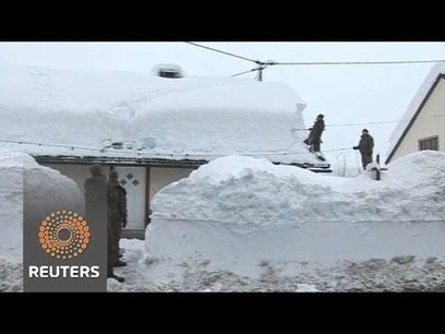 Central Europe Sees Crushing Snow Fall | Sustain Our Earth | Scoop.it