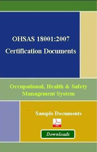 Check out Basic Element of OHSAS 18001 Certification | OHSAS 18001 | Scoop.it