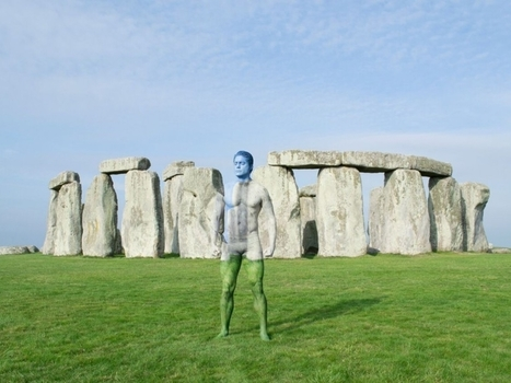 PHOTOS. Bodypainting : 8 camouflages devant les plus beaux sites du monde - L'Obs | ESL- EFL and Art | Scoop.it