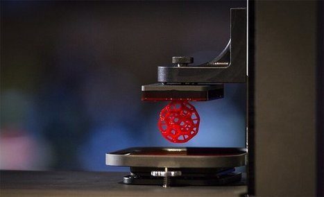 Carbon3d demonstrated a new 3D-Printer: One more step towards the future | Knowmads, Infocology of the future | Scoop.it
