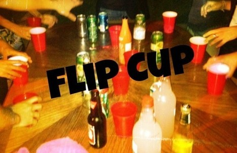 Flip cup | InspiredStream is A new Media Hub Live and Uploading from Artists All Over the World | Scoop.it