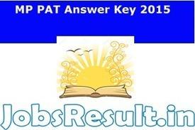 MP PAT Answer Key 2015 | Paper Solution Cut Off Downlaod | JobsResult.in | Scoop.it