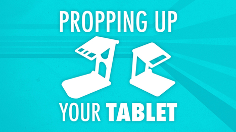Propping Up Your Tablet: Two Portable Stands - Learning In Hand @TonyVincent | iPads in Education | Scoop.it