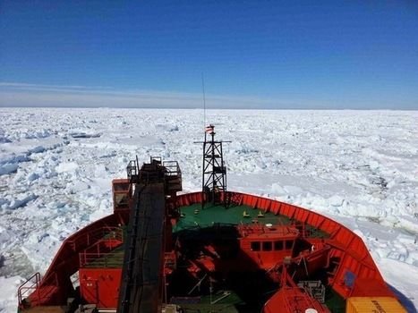 Scientists at work: Stuck in the Antarctic ice we set out to study | Sustain Our Earth | Scoop.it