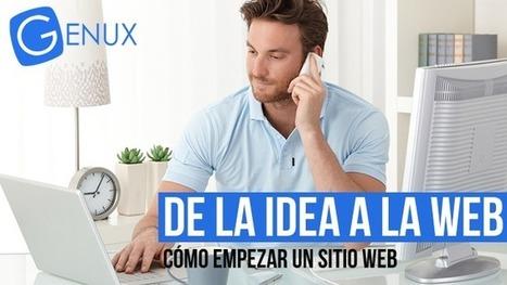4 pasos desde la idea a la web   Cómo empezar con un sitio web   Desarrollo y Diseño web   Scoop.it