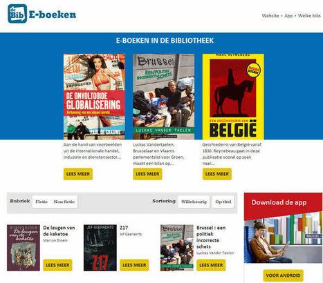 E-boeken in de bib: ebooks lenen in Vlaamse bibliotheken | Vakblog | trends in bibliotheken | Scoop.it