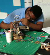 'I learned a lot about myself' building a 3D printer: Digital Harbor student [VIDEO]   Peer2Politics   Scoop.it