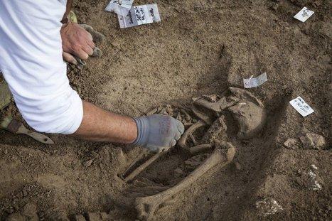 En images : soixante squelettes découverts près des arènes de Saintes | Monde antique | Scoop.it