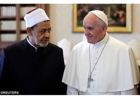 Pápež prijal veľkého imáma Al-Tayyiba s delegáciou univerzity Al-Azhar | Správy Výveska | Scoop.it