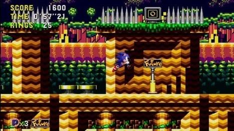 Test : Sonic CD (XBLA)   Le Journal du Gamer   Vade RETROGames sans tanasse!   Scoop.it