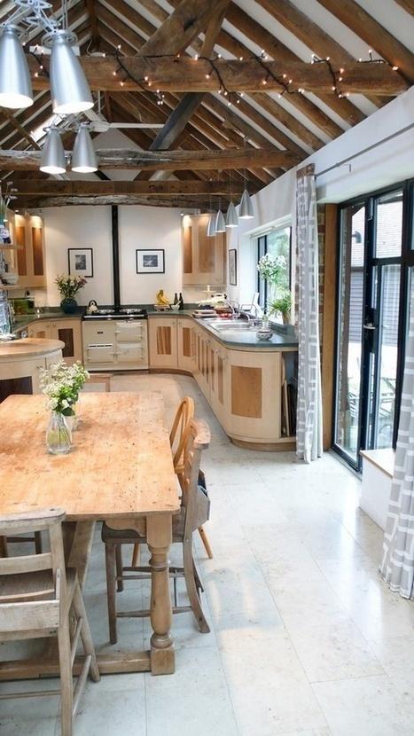 39 Dream Barn Kitchen Designs | Kitchen Remodeling | Scoop.it
