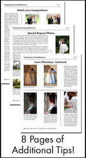 Wedding Photography Tips (for photographers) --- Information About How To Photograph a Wedding for Beginners | For the love of Photography | Scoop.it