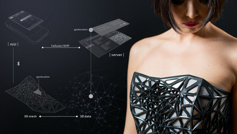 3D-Printed Dress Exposes your Skin as you Share Online Data | Technology in Business Today | Scoop.it