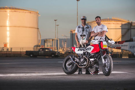 Russell Motorcycles Custom Ducati Scrambler  | Ductalk Ducati News | Scoop.it