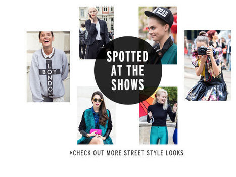 Topshop - London Fashion Week | Fashion and Style | Scoop.it