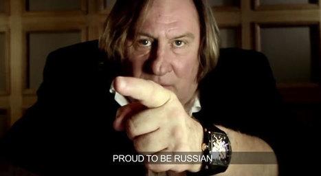 Gérard Depardieu dans une publicité russe pour CVSTOS   Publicité - Advertising   Scoop.it