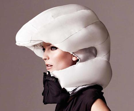 Invisible Bicycle Helmet | Italica | Scoop.it