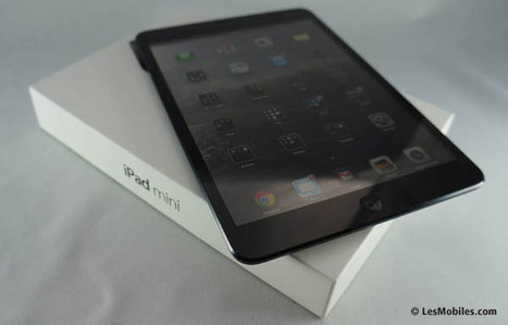 Test : Apple iPad mini - LesMobiles.com | Actualité high-tech et techno | Scoop.it