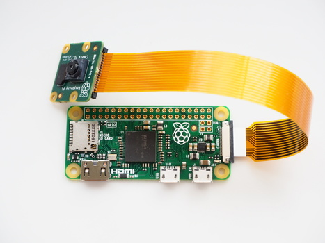 Zero grows a camera connector - Raspberry Pi | Raspberry Pi | Scoop.it