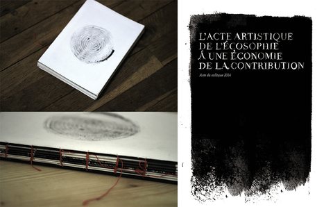 PARUTION du livre collectif « l'Acte artistique - de l'écosophie à une économie de la contribution » | CRANE  lab | Scoop.it