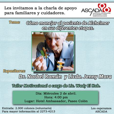 Charla de apoyo para familiares y cuidadores ASCADA - Abril | Escucha | Scoop.it