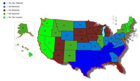"How ""tightness"" vs ""looseness"" explains the U.S. political map | Modern Cartographer | Scoop.it"