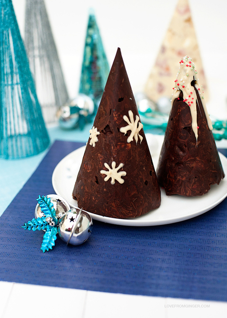 Rocky Road Christmas Trees | Yums | Scoop.it