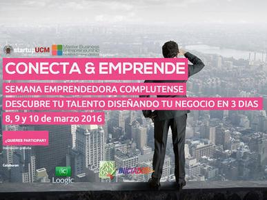 5º Conecta & Emprende UCM | Debate Formativo | Scoop.it