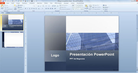 Temas para PowerPoint 2010 y Plantillas con Diseños Originales | Plantillas Power Point | Polimex | Scoop.it