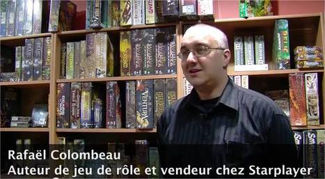 Rencontre avec Rafael Colombeau, auteur de jeu de rôle   Jeux de Rôle   Scoop.it