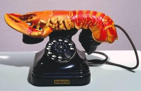 'Lobster Telephone', Salvador Dalí | Tate | school | Scoop.it